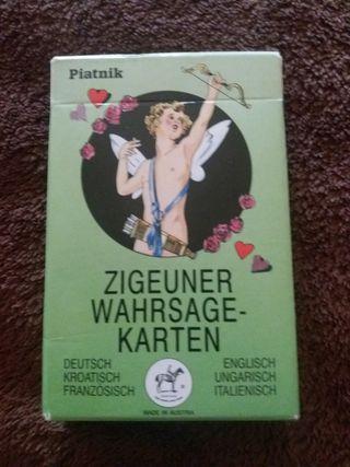 32 cartas de adivinación Piatnik