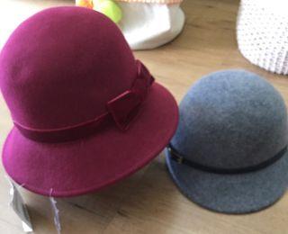 Pack de sombrero y gorra lana niña
