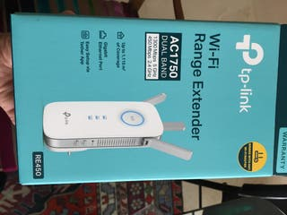 Repetidor wifi tp-link Wi-fi range extender AC1750