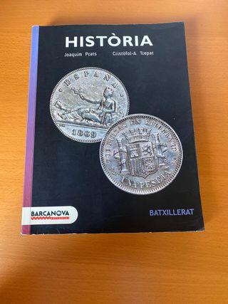 Llibre d'Historia de 2n de Batx