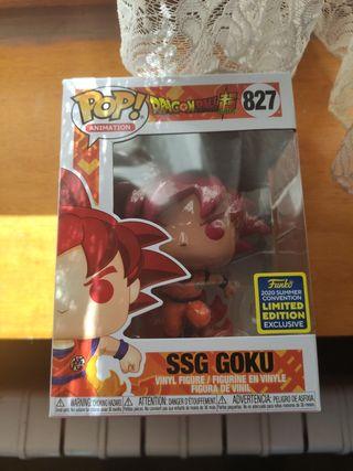 Funko pop! SSG GOKU SDCC 2020