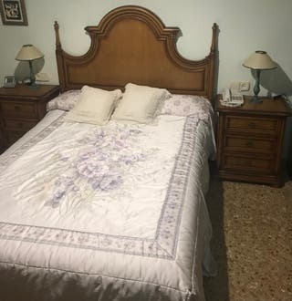 Muebles habitación matrimonio rustica