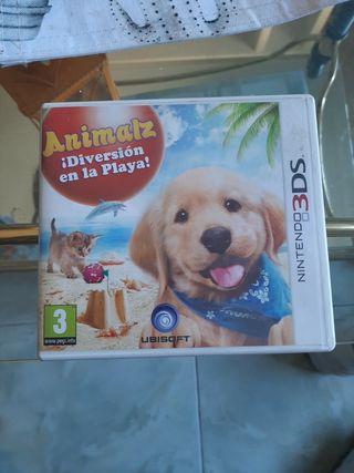 """Juego nintendo 3DS """"Animalz diversión en la playa"""""""