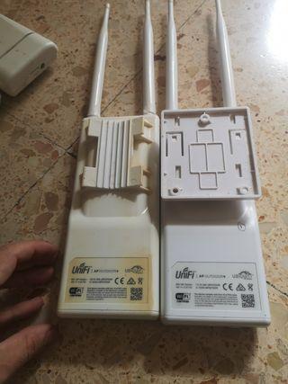 8 antena Ap outdoor + ubiquiti Unifi wifi 2.4ghz