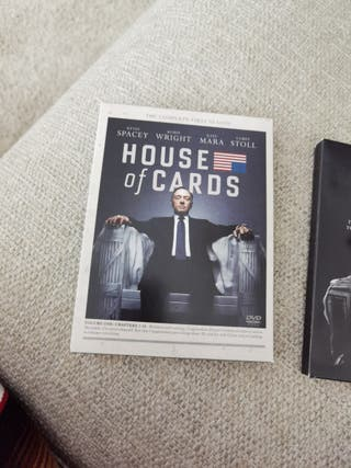 House of cards T 1,2,3 y 4