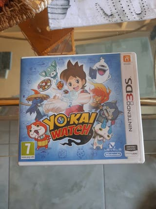 "Juego nintendo 3DS ""Yo-kai watch"""