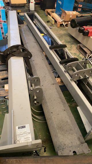Elevador 2 columnas corghi