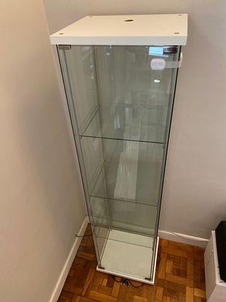 Glass cabinet / vitrina 40X40X160CM