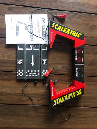 Cuentavueltas y luces salida Scalextric