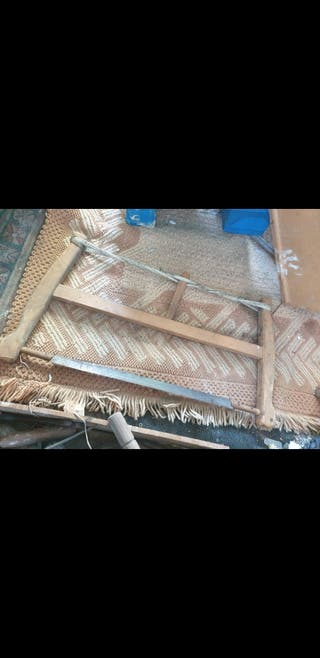sierra de madera antigua