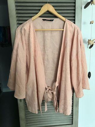 Kimono chaqueta Zara L Mujer