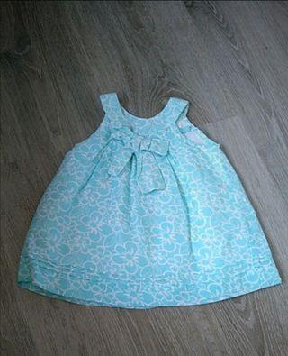 Vestidos niña bebe de tallas 6-9-12-18meses.