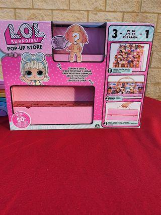 """Expositor de muñecas """"LOL SURPRISE"""""""