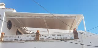 Estrutura metalica con chapa de panel 3 cm