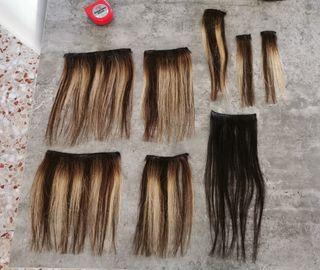 Extensiones cabello de clip