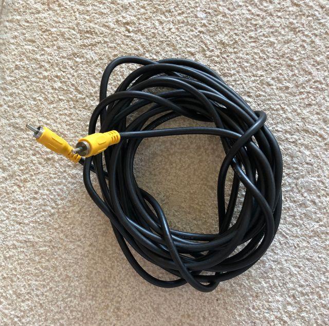 Câble Audio RCA mâle/mâle 5 mètres de long