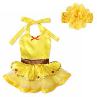 disfraz niña bebé nuevo princesa 6/9/12 MESES