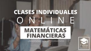 CLASES DE MATEMÁTICAS FINANCIERAS