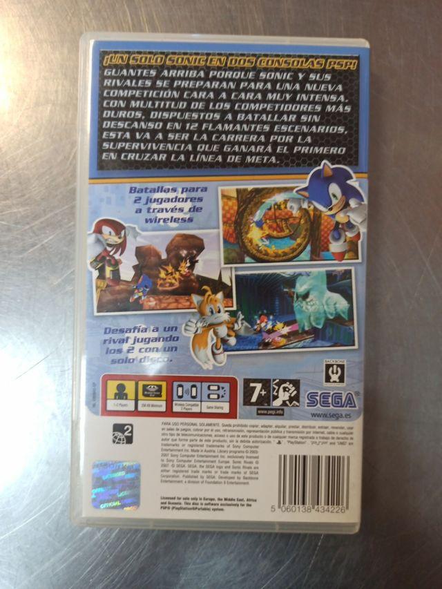 Sonic Rivals, PSP