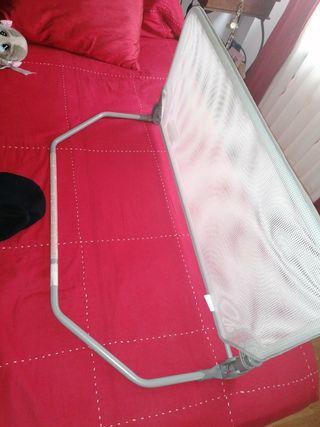 barrera para cama de niños