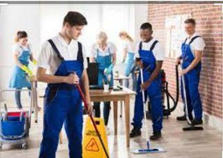 Se ofrece personal de Limpieza