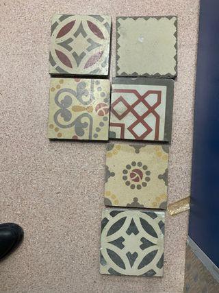 baldosas hidráulicas vintage azulejo rachola