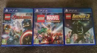 Pack Juegos Lego PS4