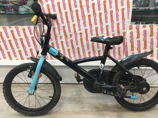Bicicleta niño bitwin azul