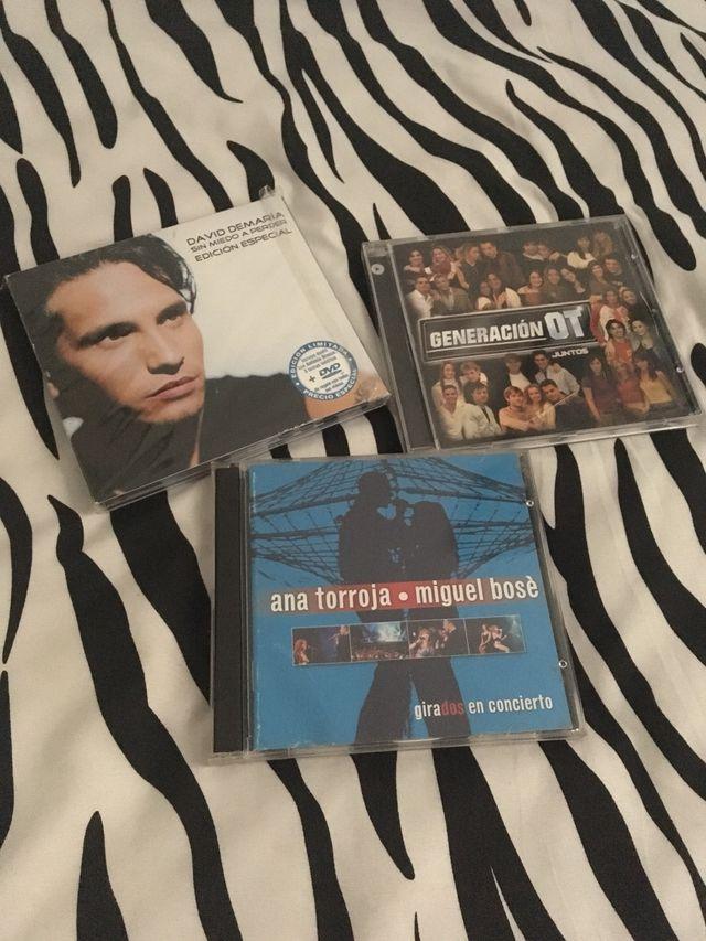 Lote 10 CDS . Mecano, Casal, Madonna Leer descripc