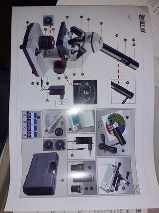 Microscope biolux NV