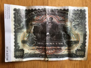 Billete 1000 pesetas