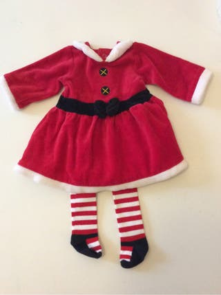 Disfraz mamá Noel 0-3m