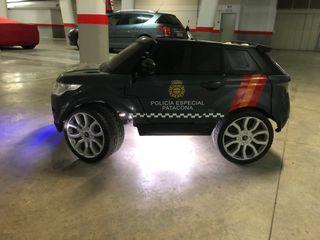 Coche Feber 12v Land Rover Policía niños
