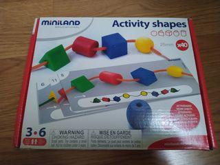 Activity Shapes Miniland