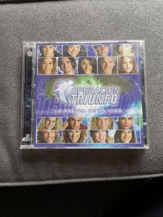2 CD - Operación Triunfo - La fuerza de la vida