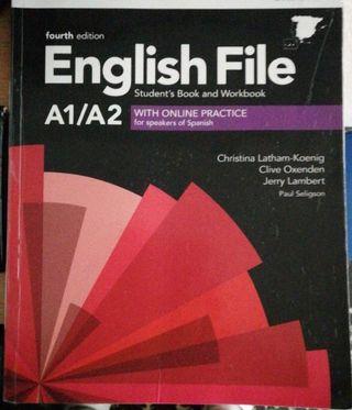 Libro ingles EOI. A1/A2 English File