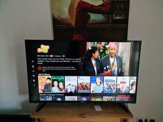 smart tv hisense 43