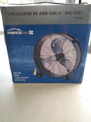 Ventilador de aire-suelo súper potente