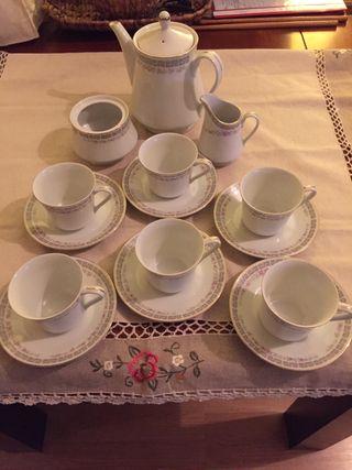 Antiguo juego té