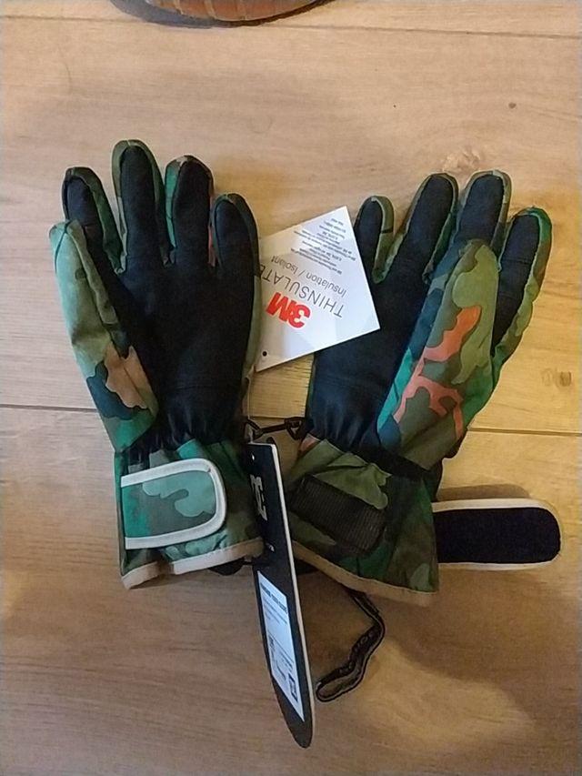 Guantes esquí ski moto esquí DC Shows 10k tinsulat