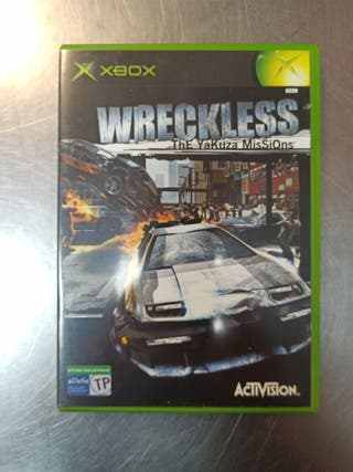 Wreckless The Yakuza Missions, Xbox