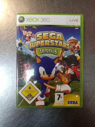 Sega Superstars Tennis, Xbox360