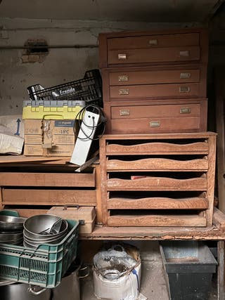 Muebles almacenaje madera
