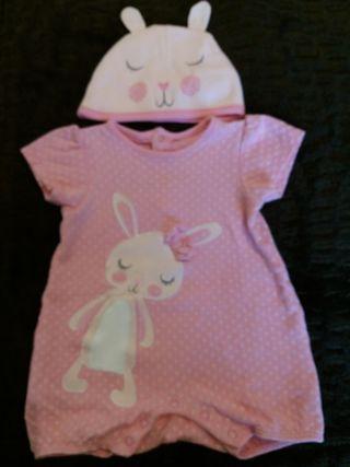 Pijama bebe verano talla 6-9m