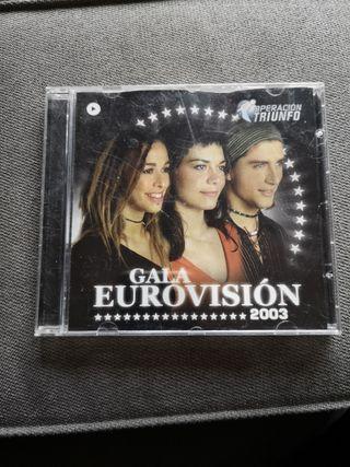 CD OPERACIÓN TRIUNFO - Gala Eurovision 2003