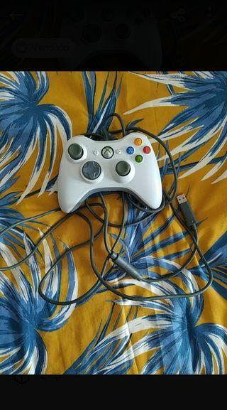 Mando Xbox 360 USB más micrófonos Xbox