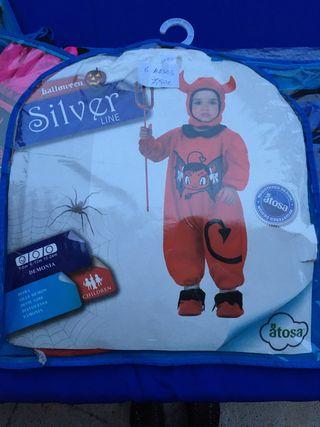 Disfraz bebé diablo 6 meses Halloween