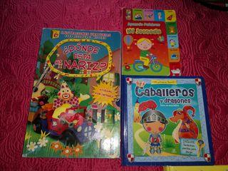 cuentos infantiles circo caballeros puzzles