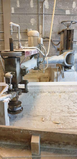 Pulidora de brazo para mármol