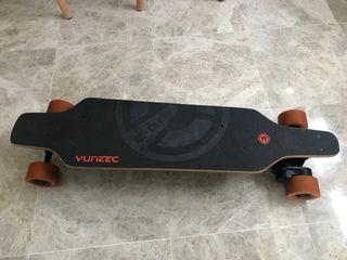 Longboard skate electrico yuneec ego patinete
